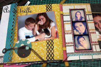 mme,kaisercraft,collection,annabel,as de trèfle,tuto,album scrap,coffret,skivertex,on trend,atelier créatif