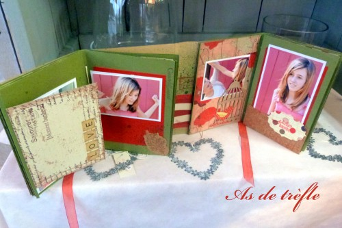 album scrap,coquelicot,ensemblekaisercraft,remember