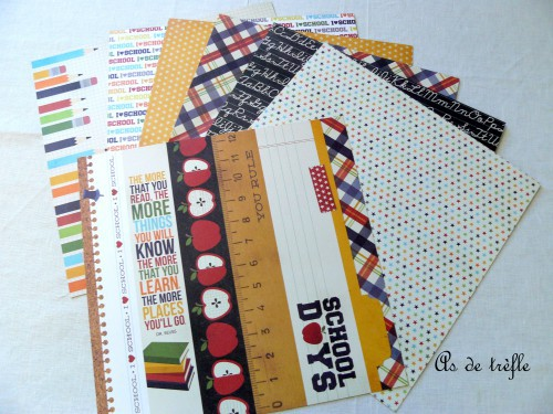 simple stories,smarty pants,annabel,as de trèfle,scrapbooking,album,atelier